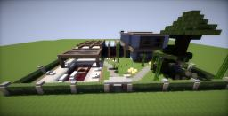 Pala-Modern House [Request] Minecraft Map & Project