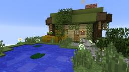 Floating Cottage Minecraft Map & Project