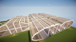 Dons Modern Train Station   Biggest Train Station Ever Minecraft Map & Project