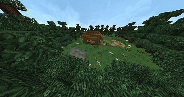 how to make a cabin in minecraft