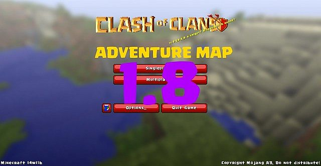 Clash of mines adventure map 18 demo minecraft project clash of mines 18 adventure building map sciox Images