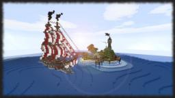 Pirate's Hideout Minecraft Project