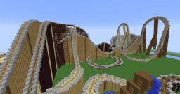 Minecraft Roller Coaster - The Race (Light side) Minecraft Project