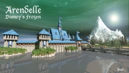 Arendelle - Disney's Frozen Winter Castle Minecraft Project