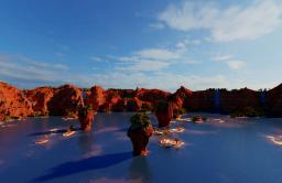 The lost valley of the fifteen waterfalls Minecraft Map & Project