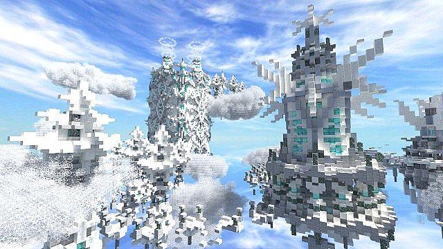 The Eye Parkour Map Minecraft Project - Mapas para minecraft 1 10 2 de parkour