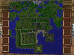 Maps of Eris, FightCraft's spawn town. Minecraft Project
