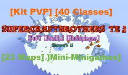 SuperCraftBrothers TE3 [PVP] [BUKKIT SERVER into VANILLA MAP] [40 CLASSES] [23 MAPS]