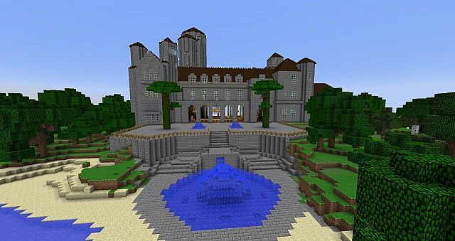 House Of The Great Gatsby Minecraft Project