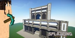 Simple Tower Spawn Minecraft Map & Project