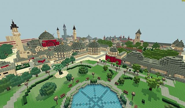 [Map] Rival Kingdoms world - красивая карта