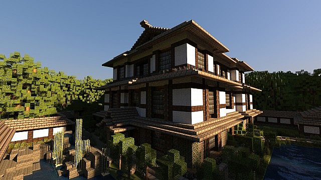 Japanese dream house by poohcraft minecraft project for Japanese dream house