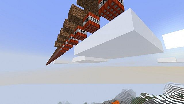 how to make a tnt minecart