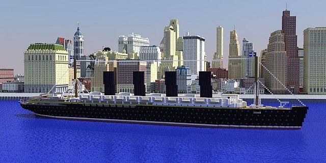 RMS Lusitania (Late li...