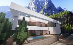 | Ostu | Contemporary house | [download] Minecraft Map & Project