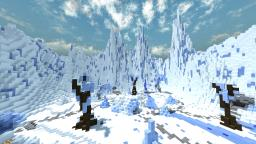 Snow/Ice themed PvP arena + DOWNLOAD Minecraft Map & Project