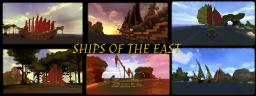 Ships of the East -- Mediterranean, Chinese, & Japanese Ships Minecraft