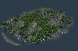 A tropical paradise Minecraft Map & Project