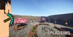 Funky Hub Spawn Minecraft Map & Project