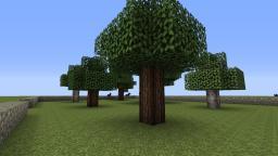 ExecBuild Tree schematics Minecraft Map & Project