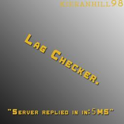 [Plugin] Lag checker Minecraft Mod