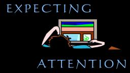 Expecting Attention   A Poem Minecraft Blog