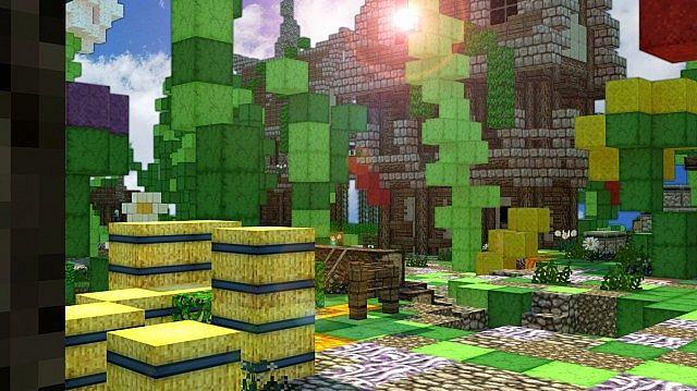 Minecraft Sky Island Adventure Map Relics