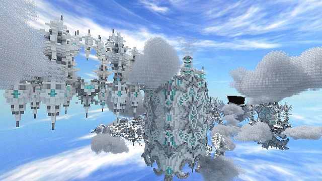 The Eye Parkour Map Minecraft Project