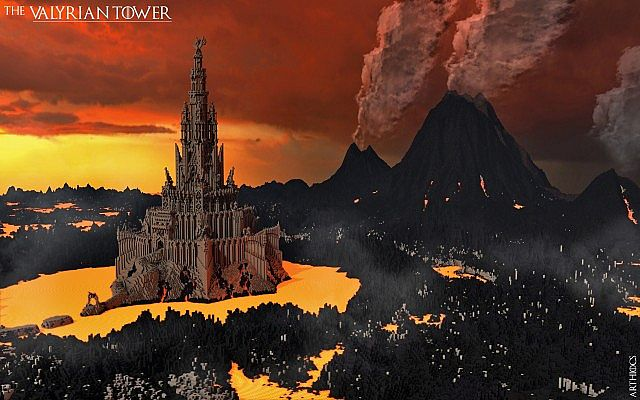 Download There4 The Valyrian Tower There4 Minecraft Project