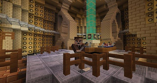 Tardis Console with the 10th Doctor skin customized by me D