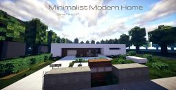 I Simple Minimalist Modern Home I WoK I Minecraft Map & Project