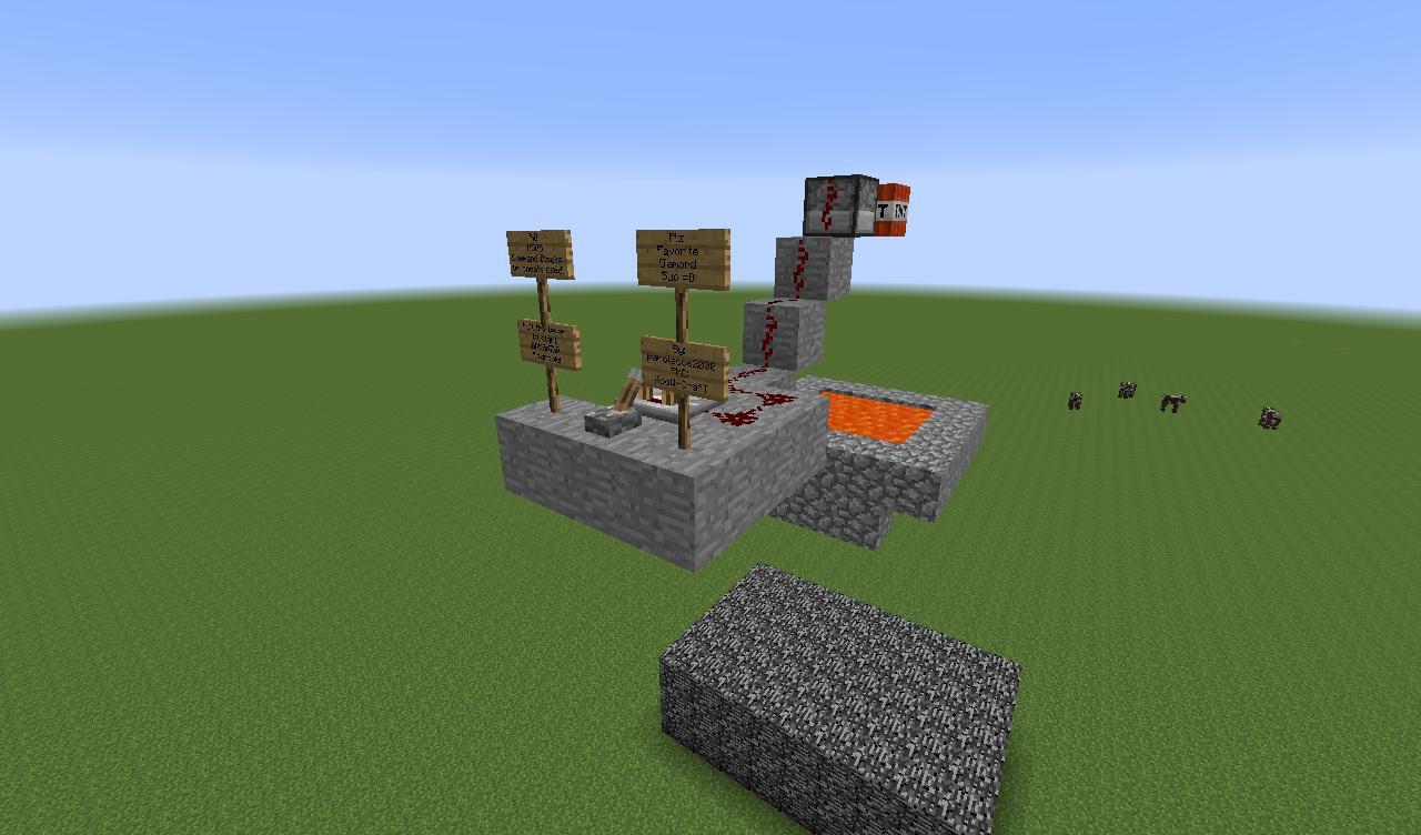 Bedrock Breaker Minecraft Project
