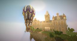 Steampunk Mansion (Rennschnitzel Lobby) Minecraft Map & Project