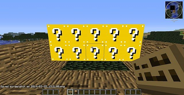 how to get lucky blocks in minecraft