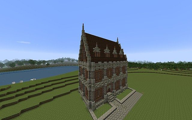 Victorian manor house minecraft project for Victorian manor house