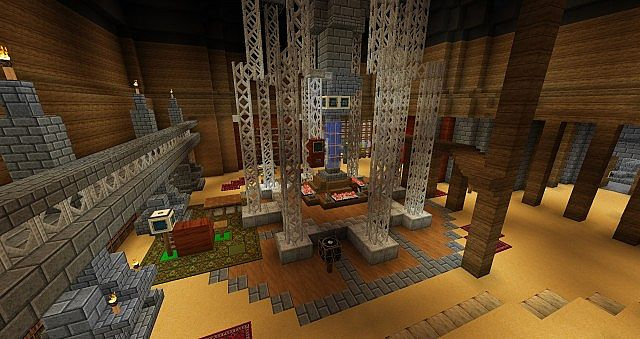 doctor who 1996 console room minecraft project