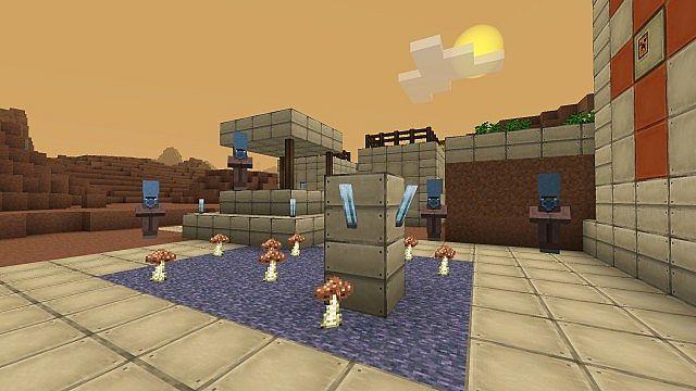 Alien villages
