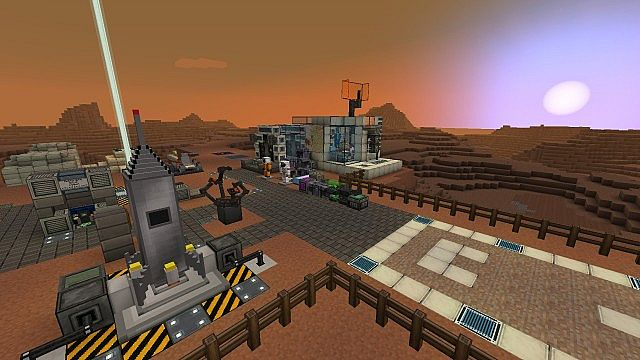 Rocket launch pad and taxiway
