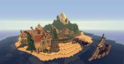 Ladrillo de piedra Island Minecraft Project
