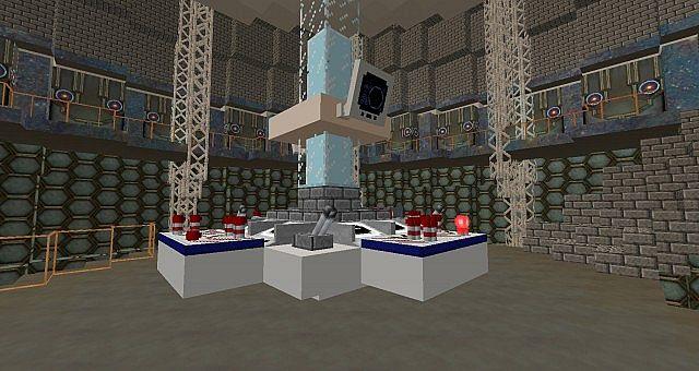 2013 Tardis control room