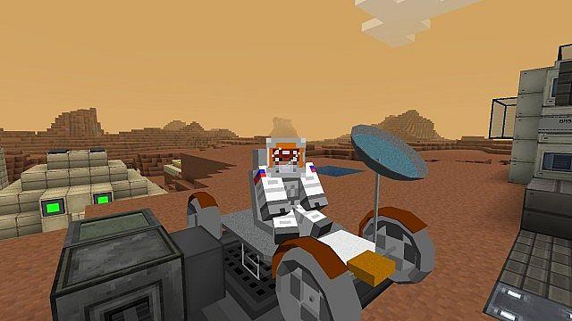 mars base minecraft - HD1920×1080