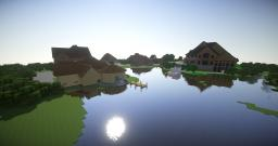 Lake View Avenue traditional styled homes Minecraft Project