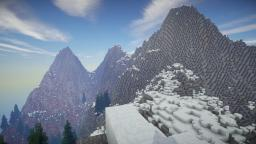 Realistic Hills Minecraft Map & Project