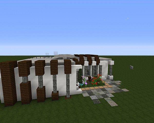1 8 modern house 1 minecraft project for Minecraft modern house download 1 8