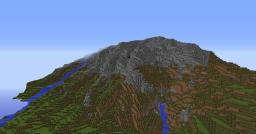 mountain + Minecraft Map & Project