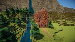 Medieval Watermill Minecraft Map & Project