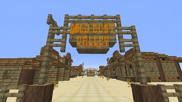Gold Dust Valley Exploration Map From Desperado W Custom Resource - Minecraft desperado hauser