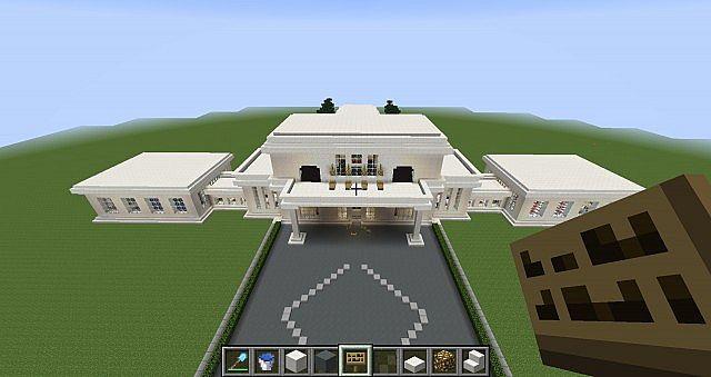 Luksus Hus Luxury House Minecraft Project