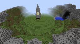 Cretopia, Custom Terrain Minecraft Project