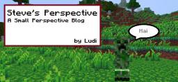 Steve's Perspective on Minecraft Minecraft Blog